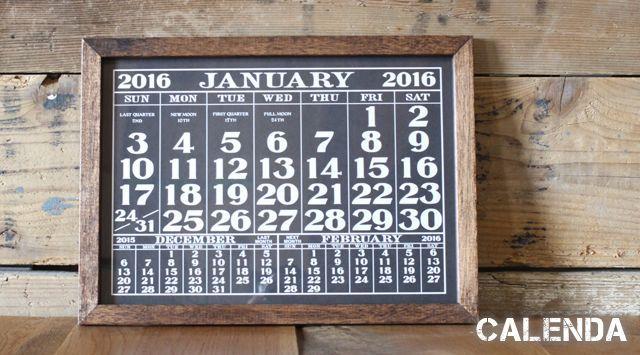カレンダー,ポスター,タイポグラフィ,デザイン,シンプル,クール,芦屋,Basket ,磁石,鉄板,ボード・板,