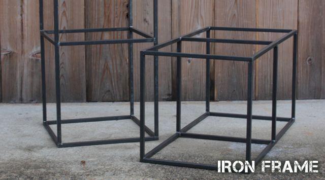 黒皮鉄,無垢,無塗装,アイアン製,フレーム,枠,パーツ,素材,販売,通販,web,ショップ,店舗什器,