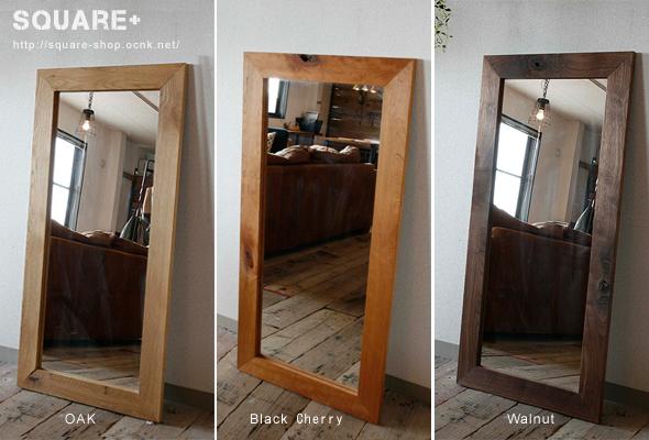 木製,ミラー,壁掛け,ウォール,オーク