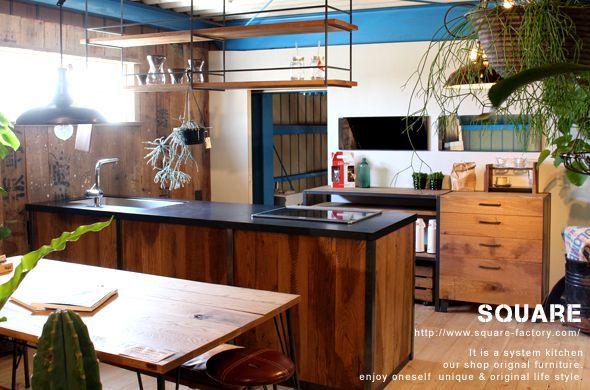 キッチン,流し台,コンロ,システムキッチン