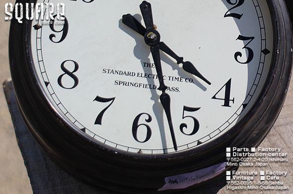 ヴィンテージ,インダストリアル,壁,時計,USED,古い,アンティーク,USA,