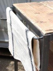 画像8: ≪ワゴン≫【キッチンワゴン USED足場板×黒皮仕様 アイアン/Used Ashiba Kitchen wagon】 (8)