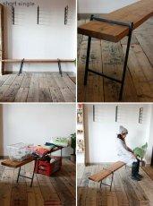 画像5: 送料無料!≪アイアン家具≫【Flat-iron leg+杉板/4タイプ/セット販売】 (5)