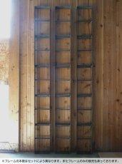 画像5: ≪シェルフ≫【ウォール・ブックシェルフ USED足場板×アイアン/2m×2m Ashiba-Book shelf】 (5)