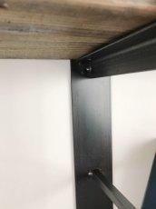 画像7: ≪シェルフ≫【ウォール・ブックシェルフ USED足場板×アイアン/2m×2m Ashiba-Book shelf】 (7)