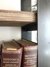 画像4: ≪シェルフ≫【ウォール・ブックシェルフ USED足場板×アイアン/2m×2m Ashiba-Book shelf】 (4)