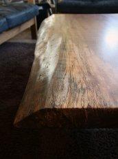 画像2: ≪SOLD OUT≫無垢一枚板 ウォールナット/ ローテーブル天板/1190mm (2)