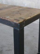 画像5: ≪ベンチ≫【USED足場板 鉄脚ベンチ 1脚】 (5)