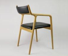 画像2: ≪宮崎椅子≫ pepe chair arm(背布張りタイプ) (2)