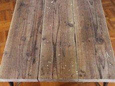画像6: 送料無料!≪ローテーブル≫【USED足場板ローテーブルDIYキット/アイアン家具】 (6)