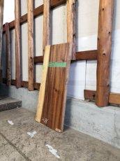 画像3: ≪未乾燥≫無垢一枚板 モンキーポッド  W855×D375~415×t35 (3)