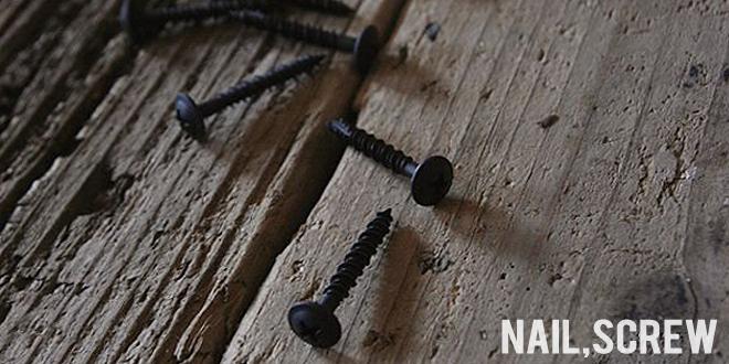 アイアン,鉄,飾り釘,ビス,黒,ブラック,ネジ,DIYパーツ,販売,通販,web,ショップ