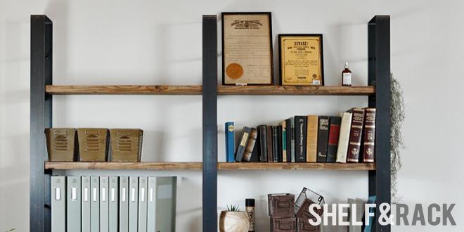 鉄,アイアン,シェルフ,ラック,本棚,無垢,天然木,制作,製作,販売,通販,ショップ