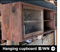 Hanging cupboard Ⅲ/WNへ