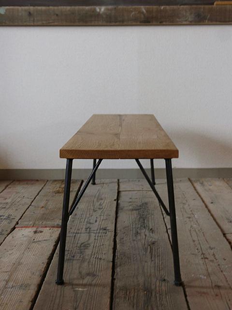 無印良品 無垢材テーブルベンチ・ウォールナット材
