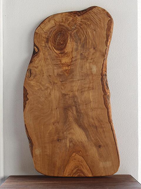 大きな,オリーブ,カッティングボード,木製,まな板