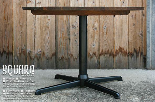 丸 ダイニングテーブル,鉄脚,1本脚,カフェテーブル,
