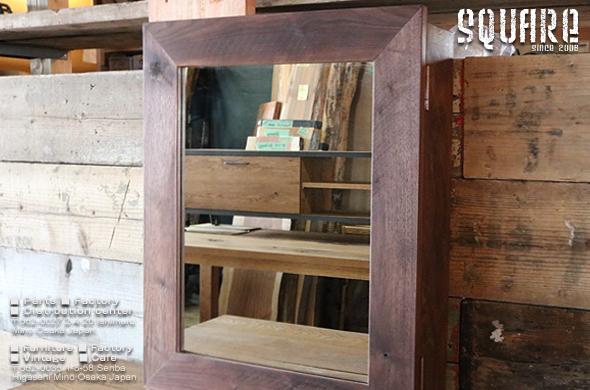 ウォールボックス,ウォールミラー,収納棚,飾り棚,鏡
