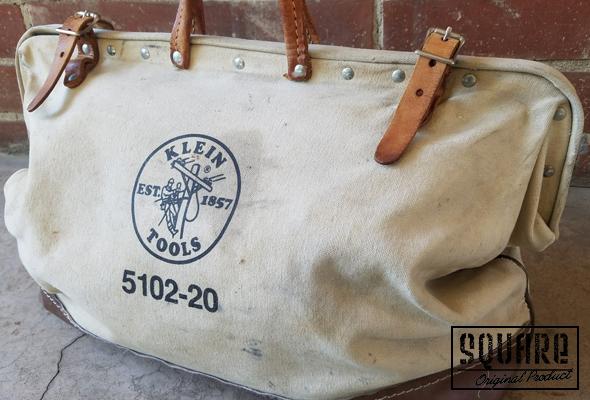 Klein Tools 5102-20,クラインツールバック,USED,ビンテージ,レトロ,工具入れ