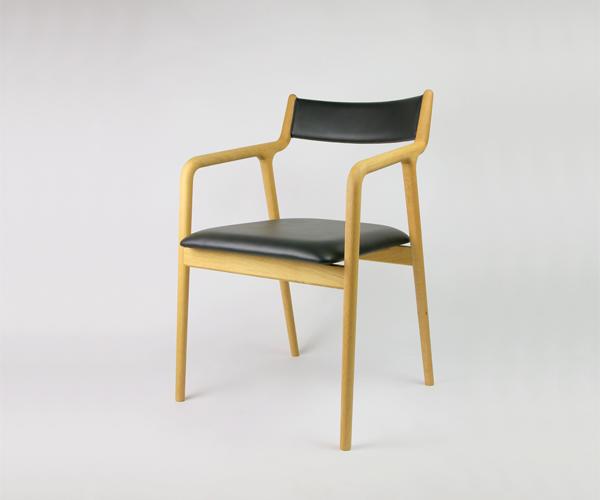画像1: ≪宮崎椅子≫ pepe chair arm(背布張りタイプ) (1)