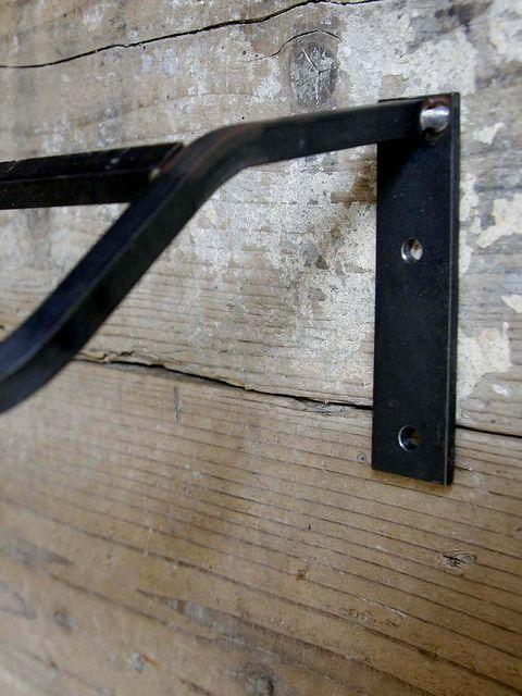 画像2: 送料無料!≪マルチホルダー≫【斜めタイプ W600 アイアン DIY素材 1個単品】 (2)