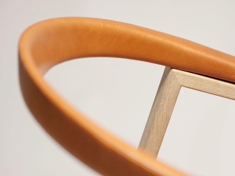 画像2: ≪宮崎椅子≫C Chair 背革張タイプ (2)