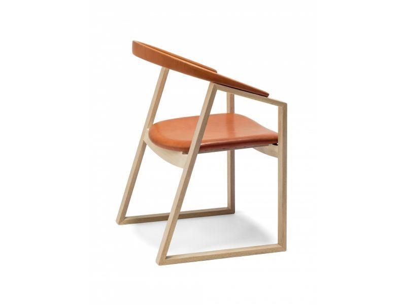 画像1: ≪宮崎椅子≫C Chair 背革張タイプ (1)
