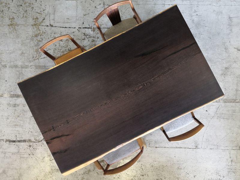 画像1: 現品限りOUTLET!≪完成品≫無垢一枚板 ウエンジ 1850mm (1)