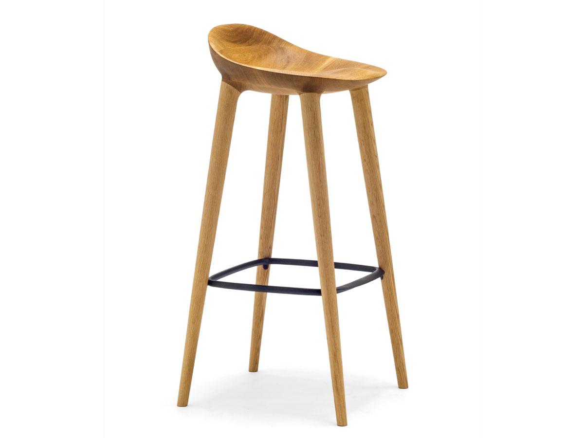 画像2: ≪宮崎椅子≫ BAR Counter chair (2)