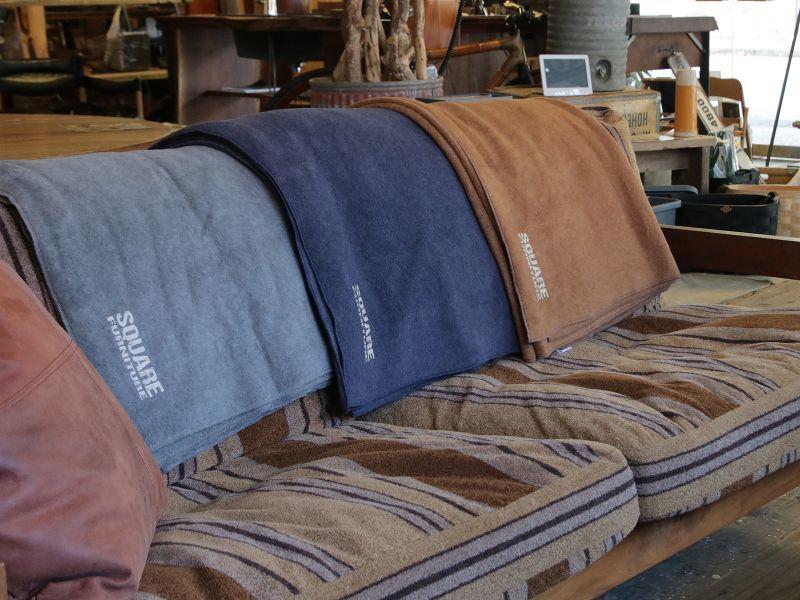 画像2: 送料無料!≪Original fabric≫【Blanket/ブランケット/3カラー/1個単品】 (2)