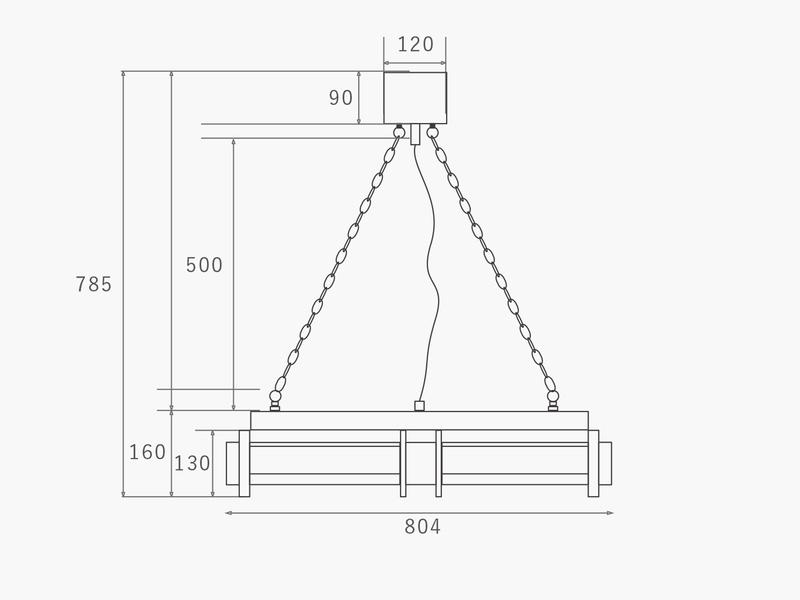 画像4: 送料無料!≪照明≫【シリンダーウッドランプ/Cylinder Wood Lamp//E17 60W×4個/1灯】 (4)