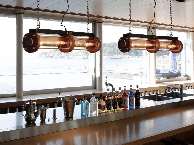 画像5: 送料無料!≪照明≫【シリンダーウッドランプ/Cylinder Wood Lamp//E17 60W×4個/1灯】 (5)