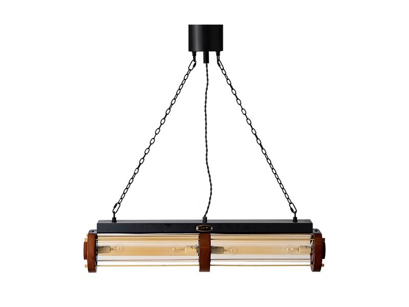 画像1: 送料無料!≪照明≫【シリンダーウッドランプ/Cylinder Wood Lamp//E17 60W×4個/1灯】 (1)