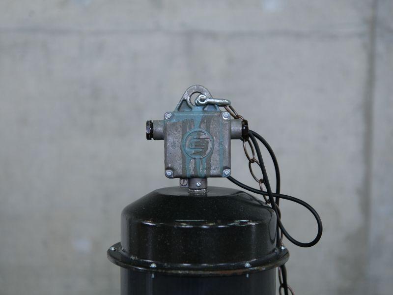 画像2: 送料無料!【industrial light インダストリアルライト・USED・ビンテージ/1体/R2008-048】 (2)
