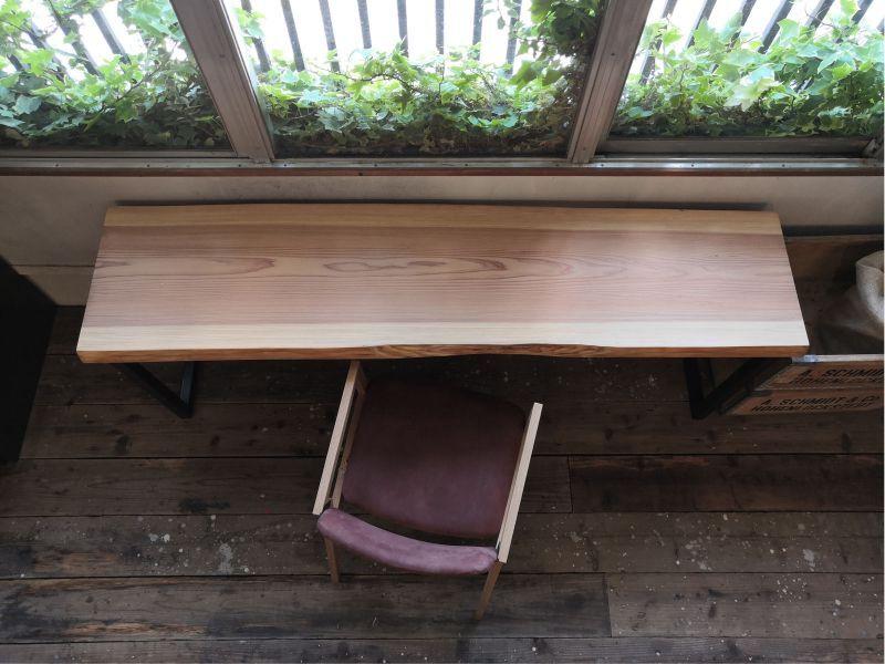 画像1: ≪完成品≫ 無垢一枚板 杉 スギ 1970mm (1)
