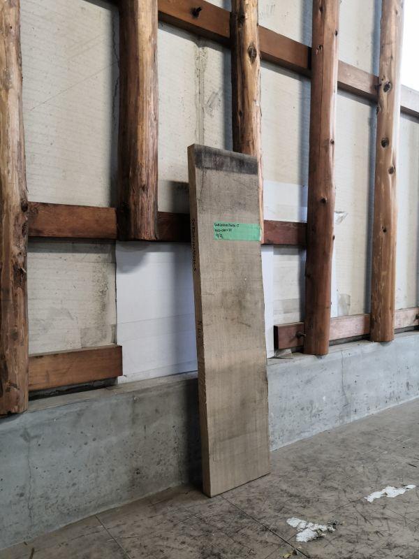 画像2: ≪未加工≫無垢一枚板 タモ  W943×D230×t35 (2)