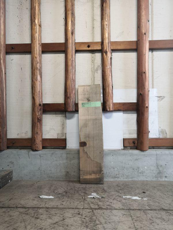 画像1: ≪未加工≫無垢一枚板 タモ W950×D230×t35 (1)