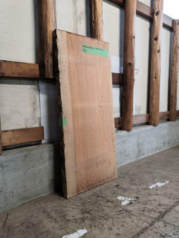 画像2: ≪未乾燥≫無垢一枚板 ボセ  W950×D420×t30 (2)